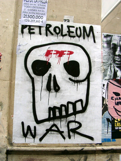 Petroleum War Wheat Pasting