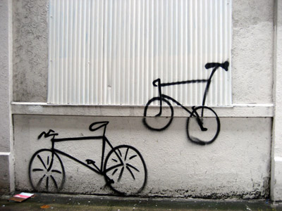 Bike Graffiti tag